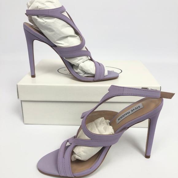 c73aacb02eb Steve Madden Womens Sidney Dress Sandals Lavender